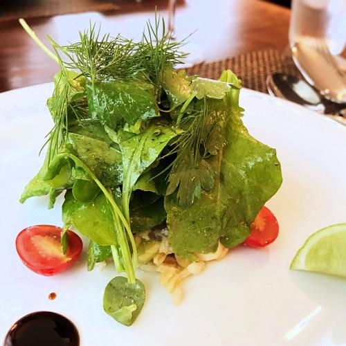 サラマンジェドヨシノランチの前菜