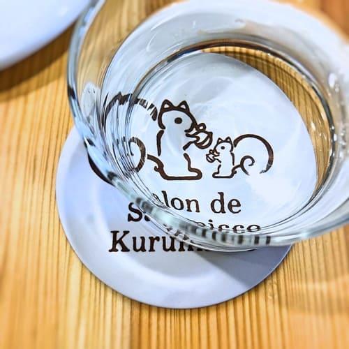 鎌倉紅谷カフェのコースター