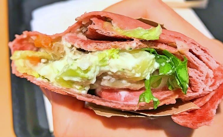 スタバサラダラップ冬野菜&きのこの口コミブログ